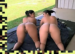 two big ass girl